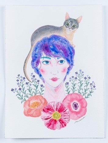 Rurika Art Collection 13人のクリエイターが描く、 美弥るりか  Rurika Art Collection (C)西田真菜