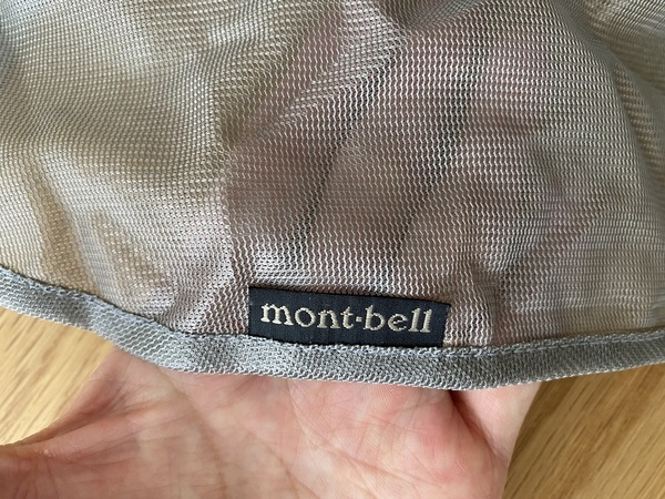 mont-bell 「ステンレスメッシュ スクリーン」