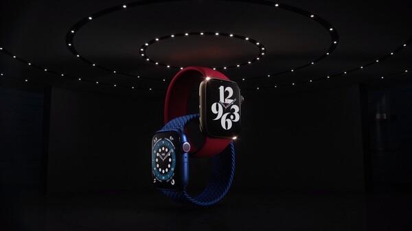 Apple Watch Series 6の登場場面