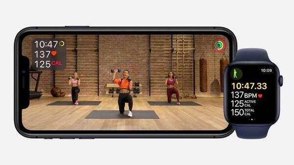 Apple Fitness+の画像