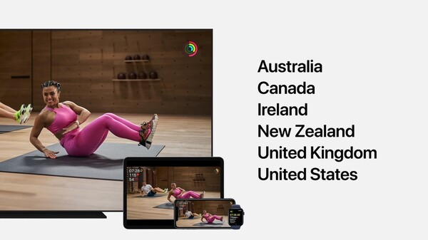 Apple Fitness+が使える国一覧