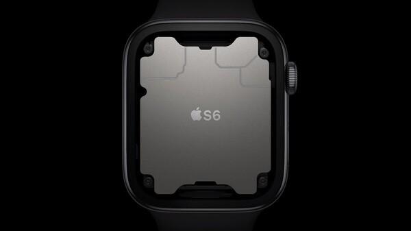 Apple Watch Series 6のチップを表す画像