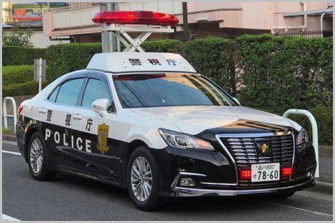 白黒パトカーの「赤色回転灯」1台いくらする?