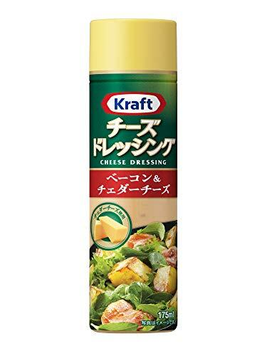 クラフト (Kraft) チーズドレッシング ベーコン&チェダーチーズ×3本【チェダーチーズのコクとベーコン】