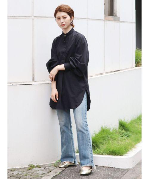[Ungrid] ボリュームスリーブドレスシャツ
