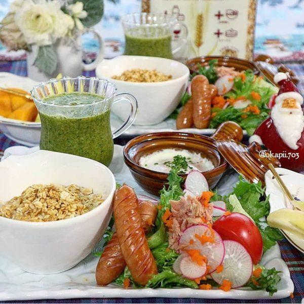 1週間のダイエット朝食レシピ!グラノーラ