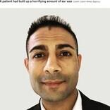 16年間耳掃除をしなかった男性 「耳垢の量はこれまでで最高」と除去した専門医(英)<動画あり>