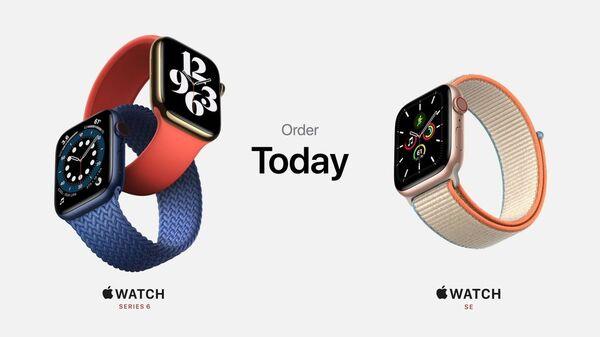 Apple Watch Series 6とApple Watch SEの画像