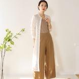 シアーワンピースコーデ【2020秋冬】透け感がおしゃれな大人の着こなし♪