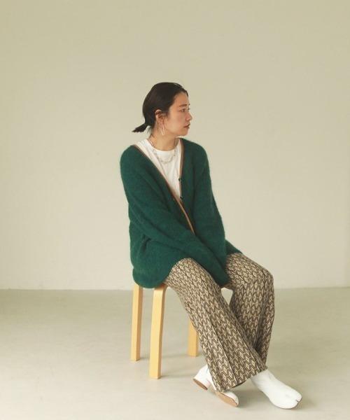 "[CANAL JEAN] TODAYFUL(トゥデイフル) ""Pattern Knit Leggings""パターンニットレギンス/12020723"