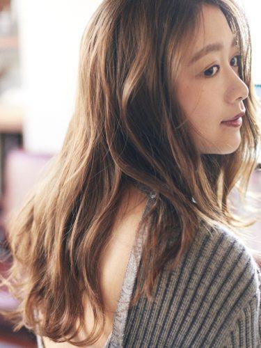 毛量が少ない女性に似合う髪型【ロング】