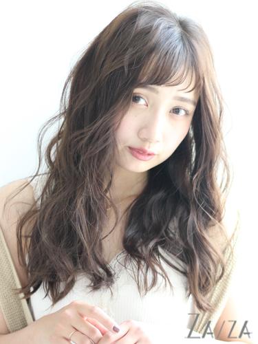 毛量が少ない女性に似合う髪型【ロング】3