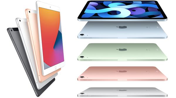 2020年9月16日に発表された新iPadとiPad Air