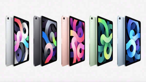 iPad(第8世代)は5色展開