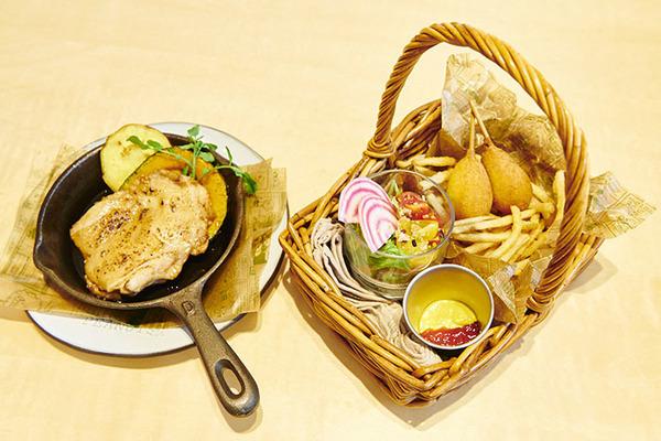 BEAGLE SCOUT'S SHACK ピクニックバスケットプレート(1名様用)¥1,500(税抜)