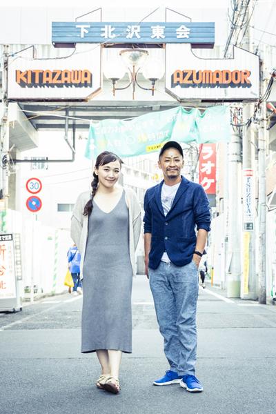 (左)桑原裕子 (右)成清正紀  (撮影:高橋定敬)