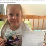 天国に逝った猫に手紙を書いた5歳女児に返事が届く 郵便配達員の心遣いが温かい(英)