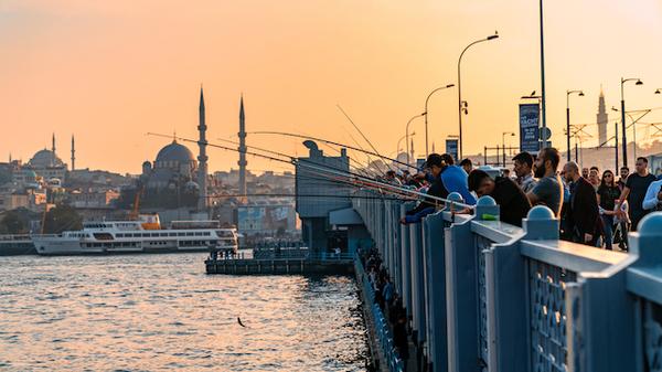 トルコ・イスタンブール・ガラタ橋
