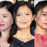 吉高由里子、ウエディングドレスで笑顔 榮倉奈々&大島優子『タラレバ』3ショットに反響