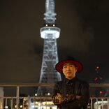 SEAMO、楽曲「Glory」で名古屋栄・新テレビ塔点灯式を祝う