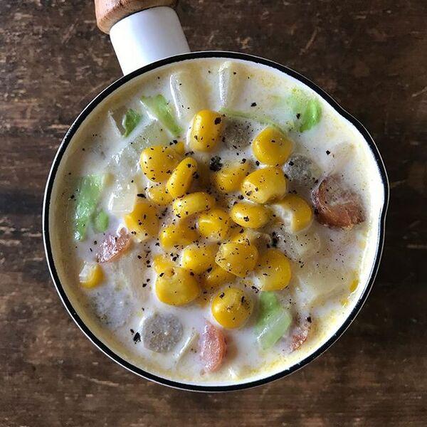 生姜ミルクスープ