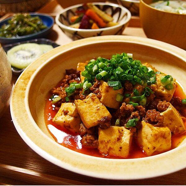 人気の中華レシピ!麻婆豆腐