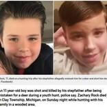 狩猟の最中に11歳少年、鹿と間違えた継父に撃たれて死亡(米)