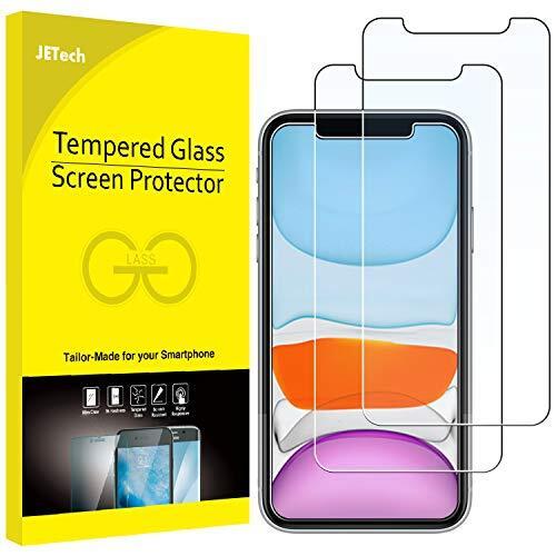 JEDirect iPhone11/iPhoneXR 用 強化ガラス 液晶保護フィルム 6.1インチ 2枚セット