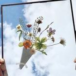 花の素晴らしさを世界に発信! NY在住の日本人フローラルデザイナーが手掛ける「押し花アート」とは?