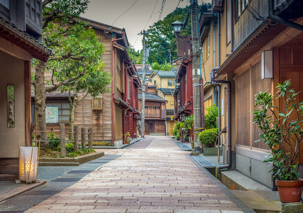 石川県金沢市ひがし茶屋街