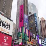 Perfumeが日本人初!N.Y.タイムズスクエアのAmazon Music巨大街頭ビジョンに登場 ジャスティン・ビーバーらと共に起用