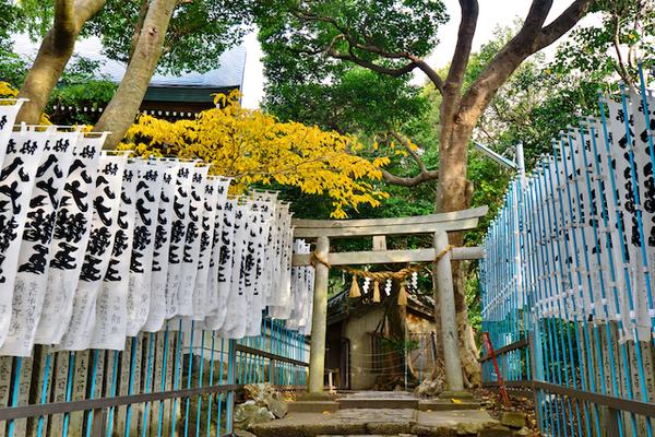 愛知県蒲郡市・八百富神社