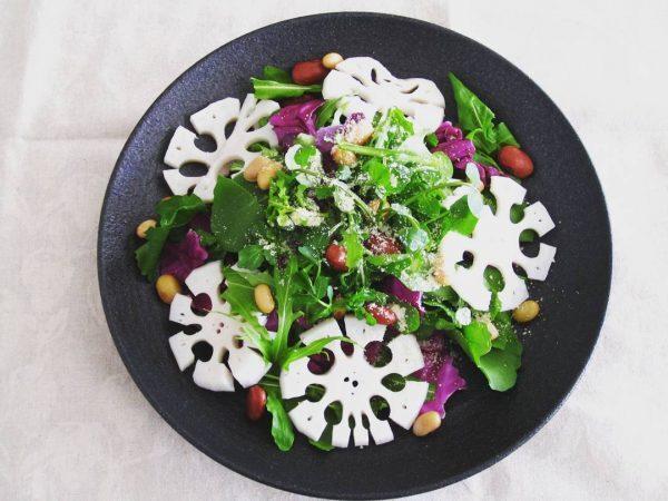 正月太り解消にれんこんサラダがおすすめ!