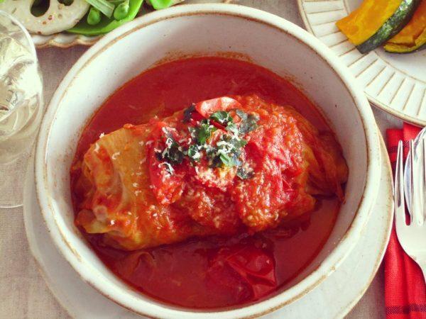 洋食の正月太り解消レシピ!豆腐のロールキャベツ