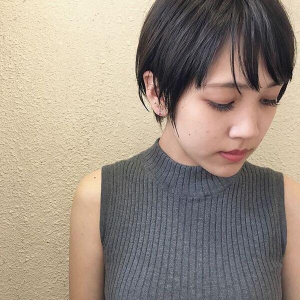 色っぽいショートヘア11