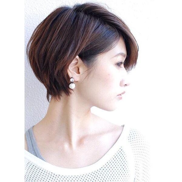 色っぽいショートヘア5