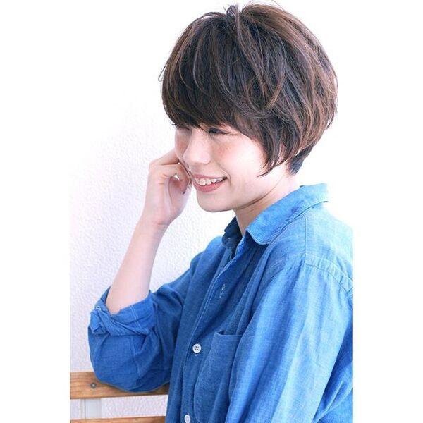 色っぽいショートヘア8