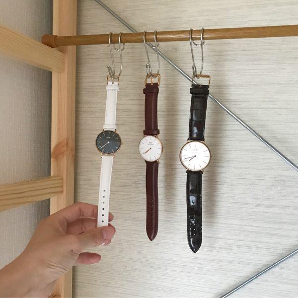 【時計】収納に活用しよう。