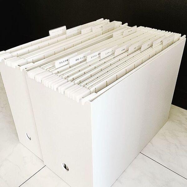 ファイルボックスの収納17