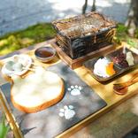 ねこねこ食パンを七輪で!京都・嵐山「eXcafe<イクスカフェ>」で素敵な朝食を