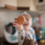 離乳食の卵の進め方!量は?卵白はいつから?【管理栄養士監修】