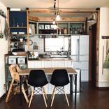 キッチン×ディアウォールの収納実例!賃貸もOKのすっきり活用術を大公開!