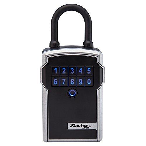 マスターロックボックス 電子ポータブルキーセーフ 個人用ソフトウェアプラットフォーム付き 幅3-1/4インチ 5440D