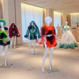 トリート×TOMO KOIZUMI、常識にとらわれない華やかなウェディングドレスを発表