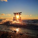 【2020年開運】滋賀県のパワースポット3選!絶景鳥居、清流の水中花、近江八景