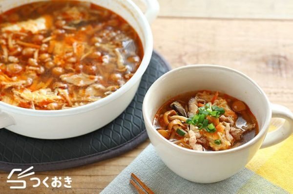 秋のおすすめ汁物人気レシピ☆昼食5