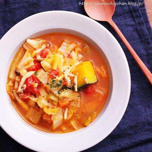 秋のおすすめ汁物人気レシピ☆昼食7