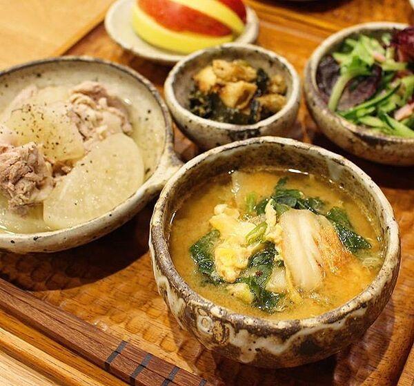 秋のおすすめ汁物人気レシピ☆朝食2