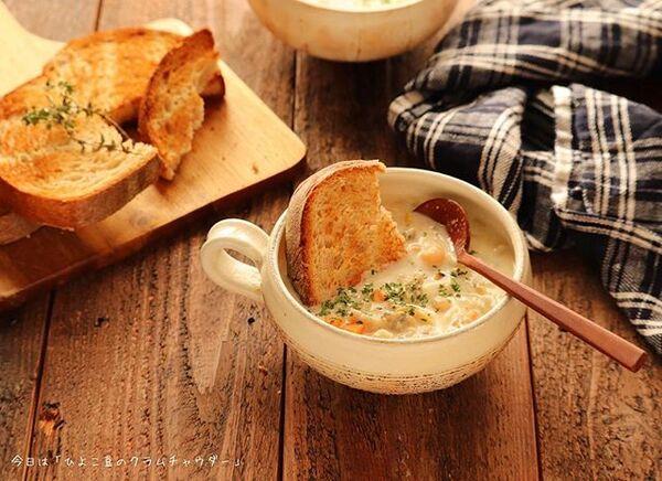秋のおすすめ汁物人気レシピ☆朝食8