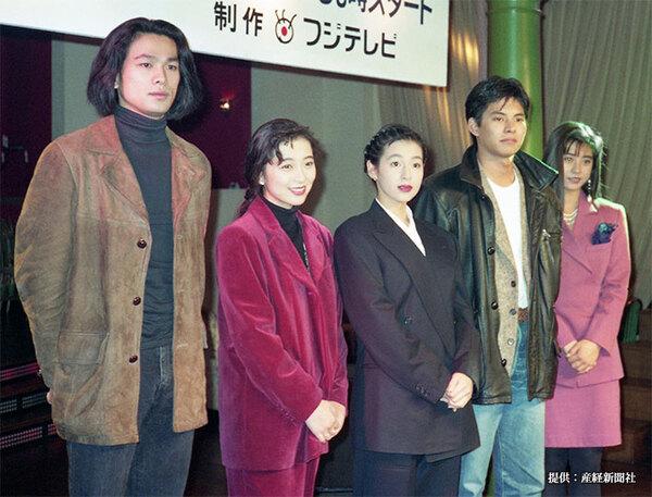 織田裕二の若い頃がかっこいい! 現在の写真と比べてみると…